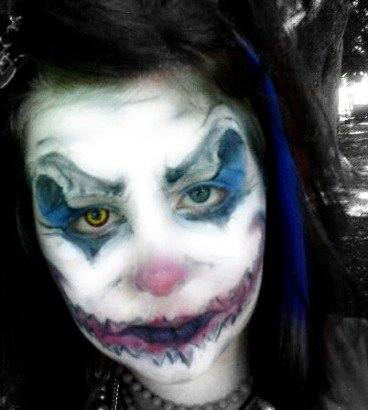 clown faces makeup. makeup the gutevil clown faces