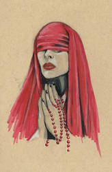 Red Nun by Colleen80