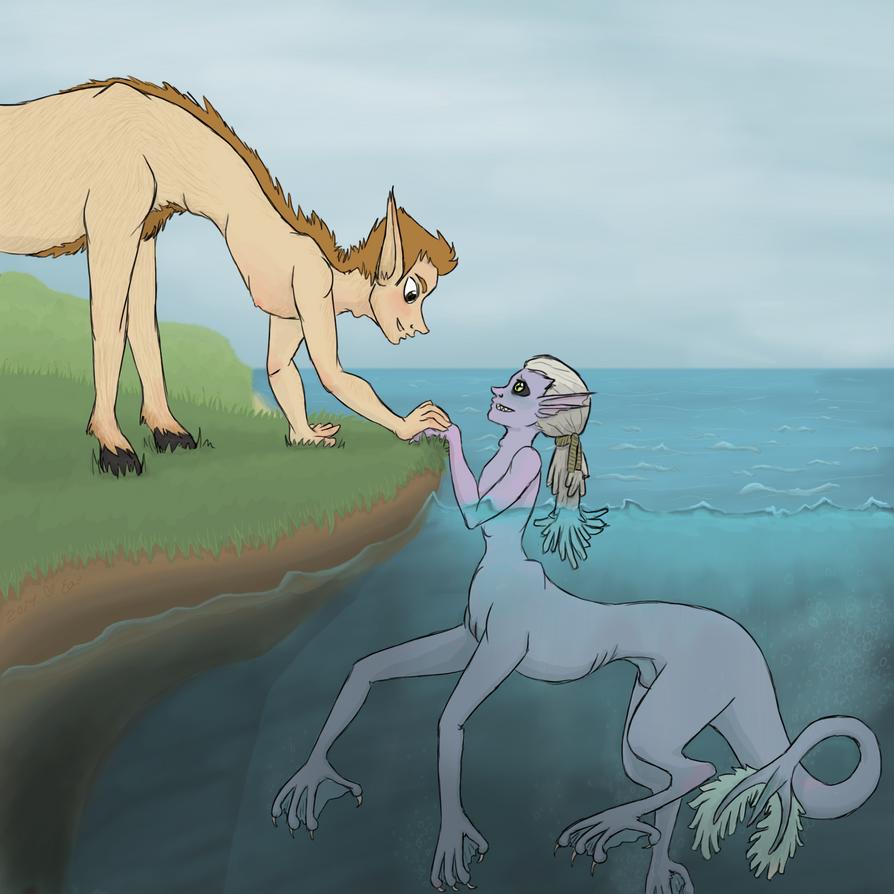 Moptail centaurs by Eloarei