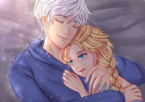 Jack Frost x Elsa: Loved