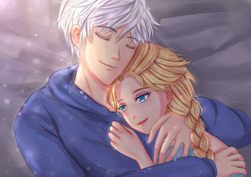 Jack Frost x Elsa: Loved by stefanikarin