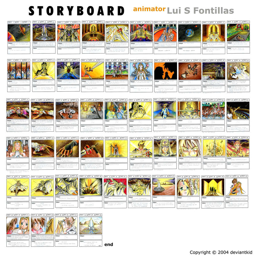 storyboard 4 cartoon animation by deviantkid on DeviantArt