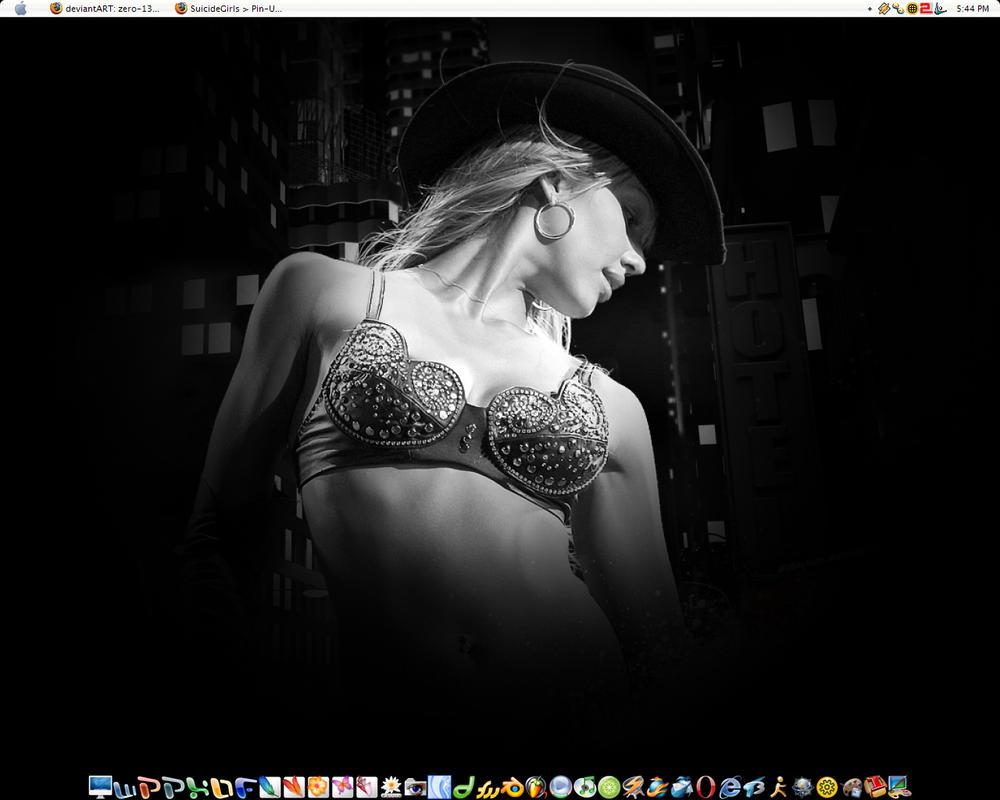 June Desktop by zero-13