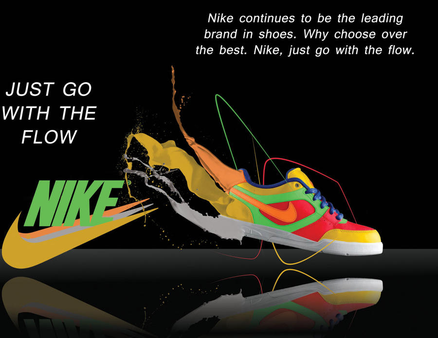 rhetorical analysis of nike advertisement The recent nike air zoom spiridon advertisement found in self magazine this month  claim using all elements of the rhetorical  to ad analysis 1.