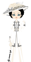 Countess Cora Crawley from Downton Abbey