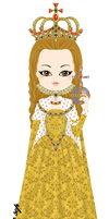 Elizabeth I - Coronation Gown