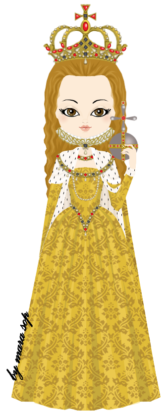 Elizabeth I - Coronation Gown by marasop