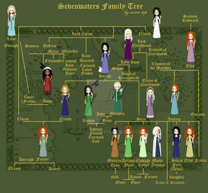 Sevenwaters Family Tree