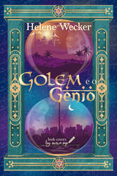 Golem and the Djinni fanmade book cover
