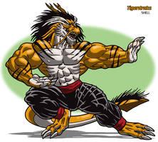 Tigerdrake by Jay-Shell