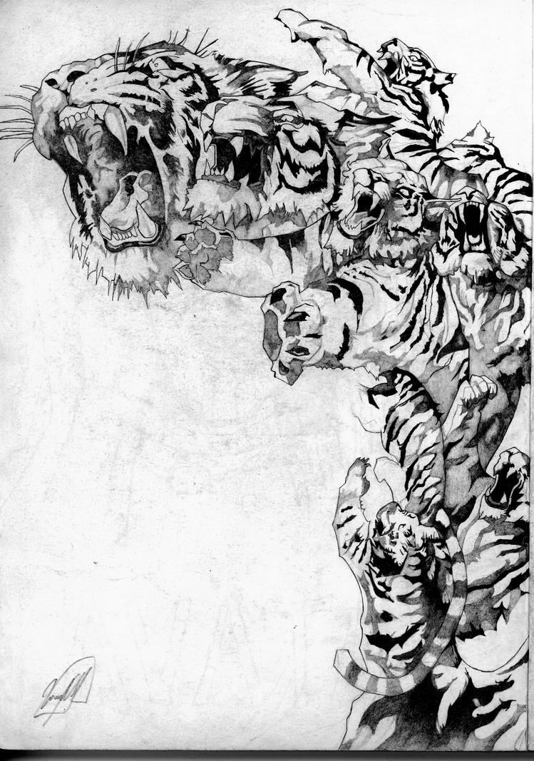 Tigre by dariovarasgaete