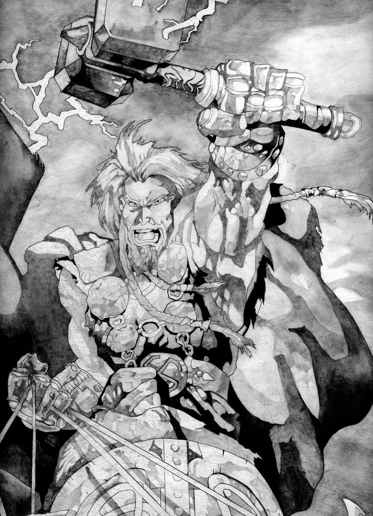 Thor by dariovarasgaete