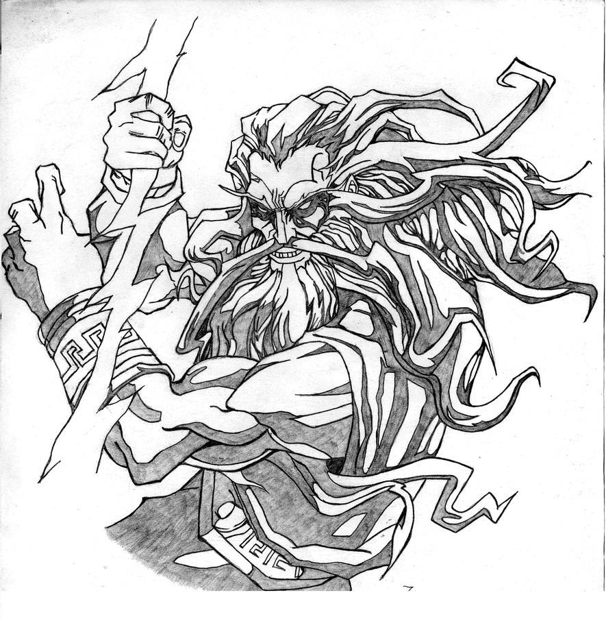 El Gran Zeus by dariovarasgaete