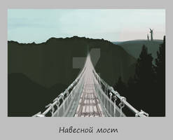 21.  Suspension bridge