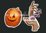 halloween sticker pack, part II