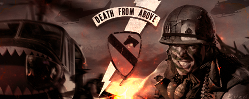 Vietnam War Death From Above - Forum Signature by Evad1