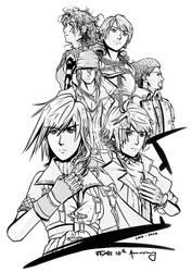[FFXIII 10th Anniversary] The Six l'Cie