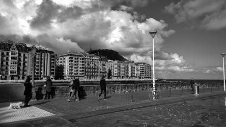 People In San Sebastian by MC-Guire