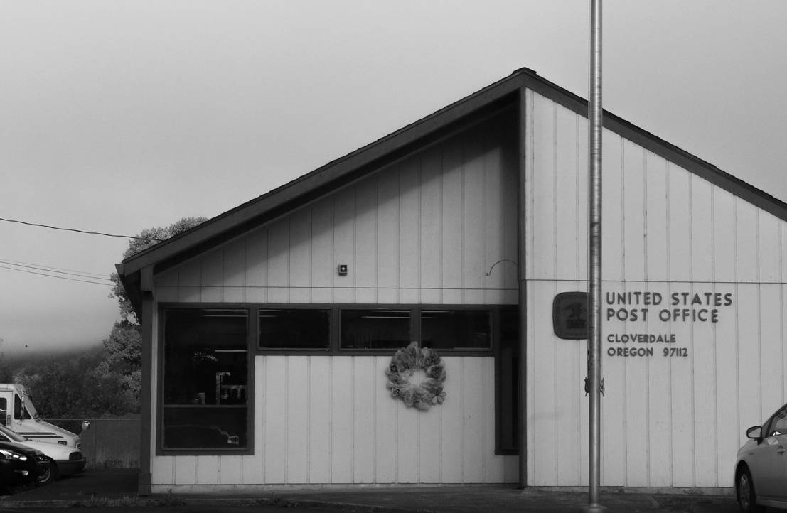 Cloverdale Oregon Post Office by MC-Guire