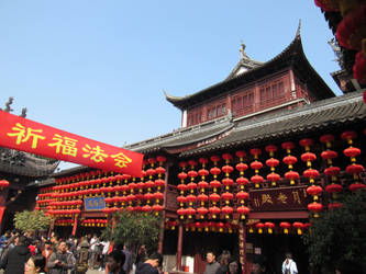 City God Temple, Shanghai by dandelionstudios