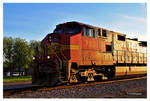 The Departure Of BNSF 783