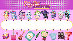 hello kitty club toys Matching games by kittyclubfan