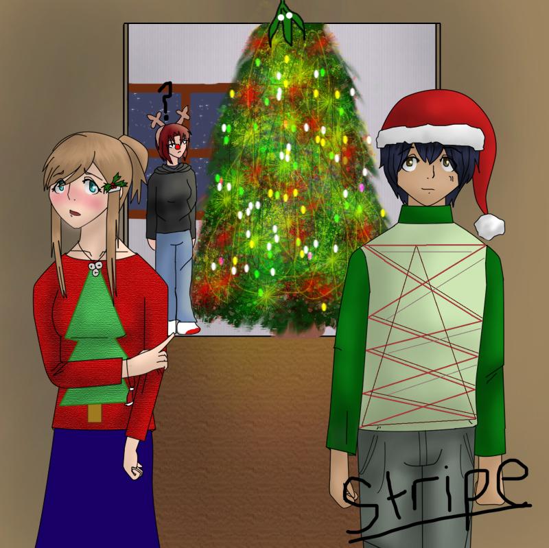 Under the Mistletoe by repeatcomic