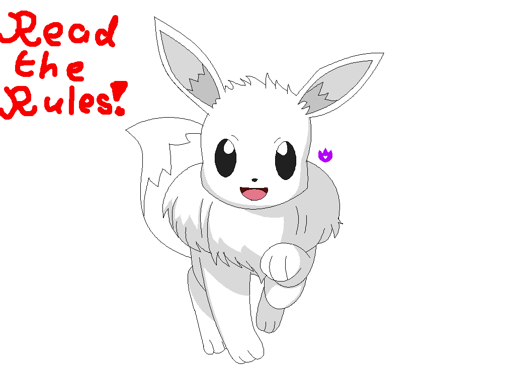 Eevee Template Free To Use By Irishaledora On Deviantart