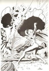 Supergirl vs. Sentry