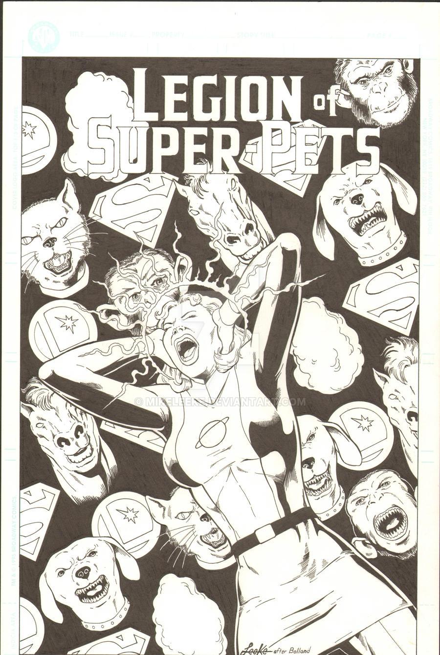 Legion Of Super Pets Vs Saturn