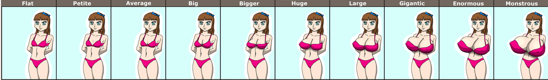 Breasts  All Shapes amp Sizes Database  rbreastgallery