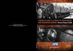 APB Resources Bhd Cover AR08 by whitecoffeekaw