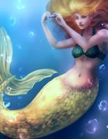 Mermaid by Banoyo