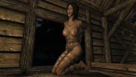 Skyrim SE - Lara Croft Slave 3 by m7seven