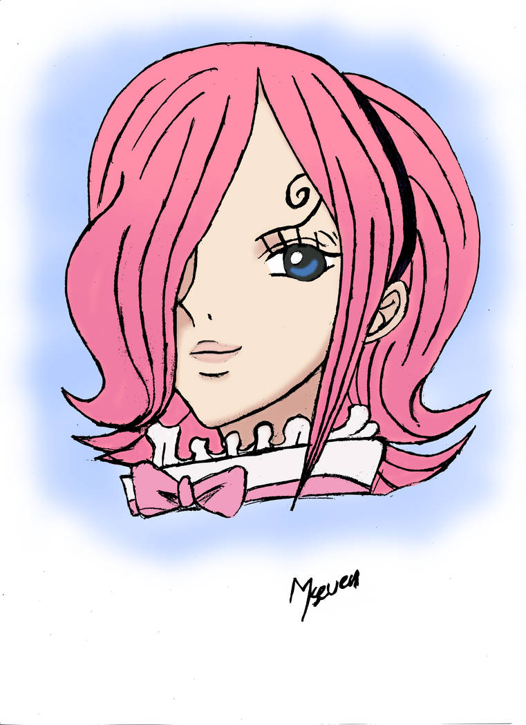 Reiju Vinsmoke Head - One Piece by m7seven