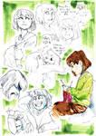 Chara-sketches