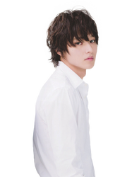 Kento Yamazaki as L Lawliet Transparent PNG by leedleleedlelawliet