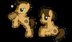 My Little Supernatural Ponies - Sam and Dean