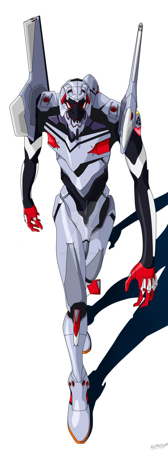 Eva Unit 04 by RoboMonkey03