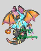 Halloween adoptable by M-I-N-K