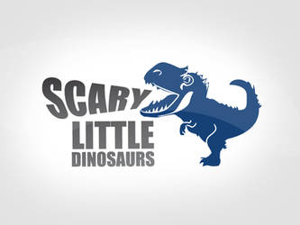 Scary little dinosaur
