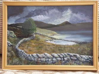 Snowdonian Landscape by Gwion01