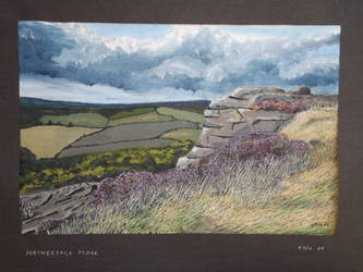 Hathersage Moor by Gwion01