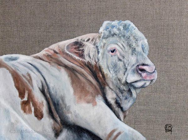 Bull by DrawforToffee