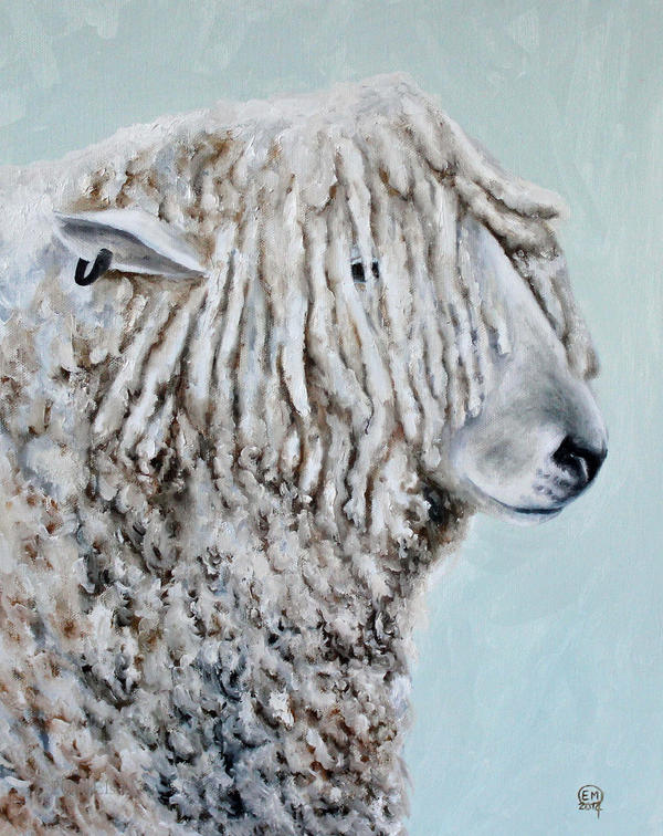 Longwool Sheep by DrawforToffee