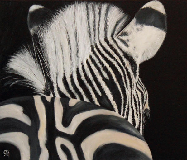 Zebra by DrawforToffee
