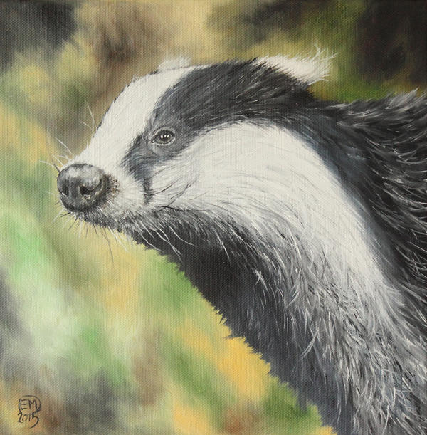 Badger by DrawforToffee