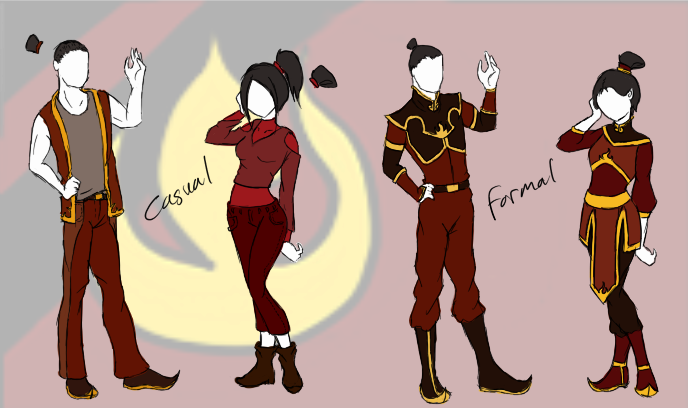 Fire Nation Clothes