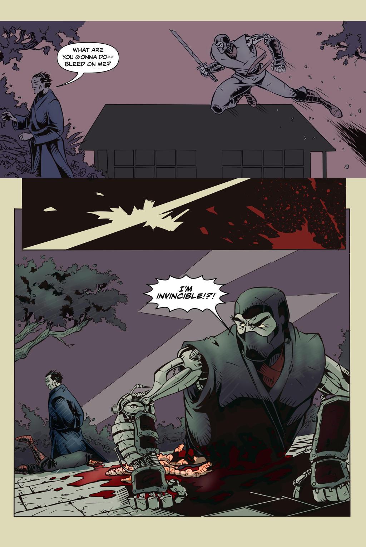 Justa Flesh Wound page 3 by Joshuakop