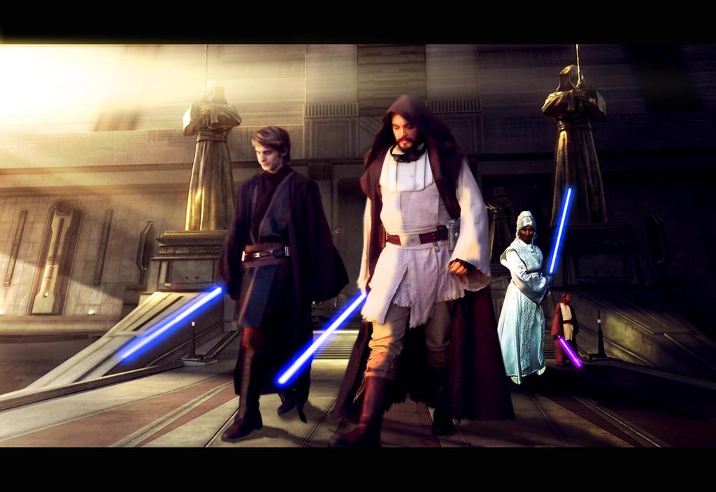 Jedi by JonhMartinezSky